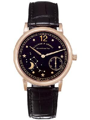 朗格Handwerkskunst腕表  朗格手表的表面怎么清洗