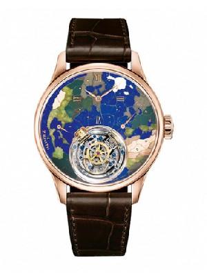 """真力时传奇机芯El Primero正式命名""""星速   真力时手表的误差标准"""